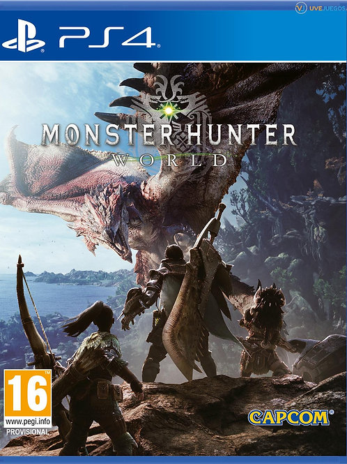 MONSTER HUNTER WORLD ps4 digital