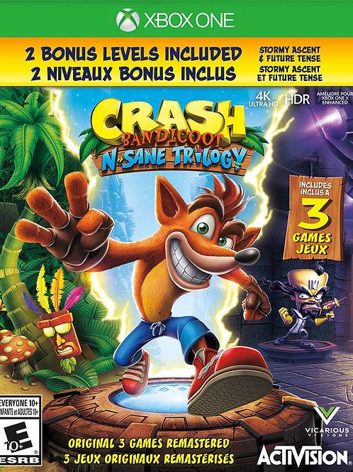 CRASH BANDICOOT Trilogia digital Xbox One