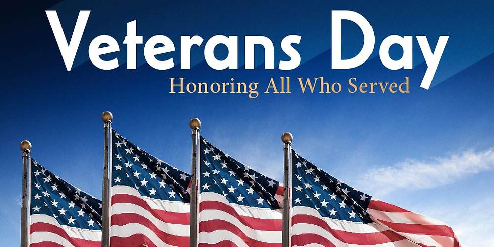 Veteran's Day Prayer Service