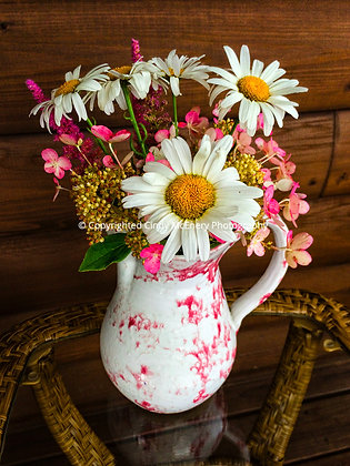 Backyard Porch Vase