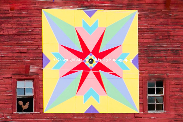 Barn Quilt #1 | Crossnore