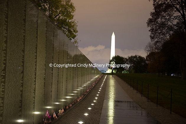 The Vietnam Memorial Wall