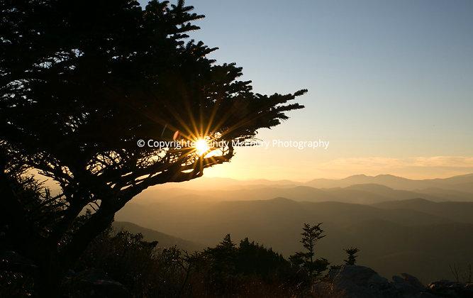 Grandfather Mountain Sunset