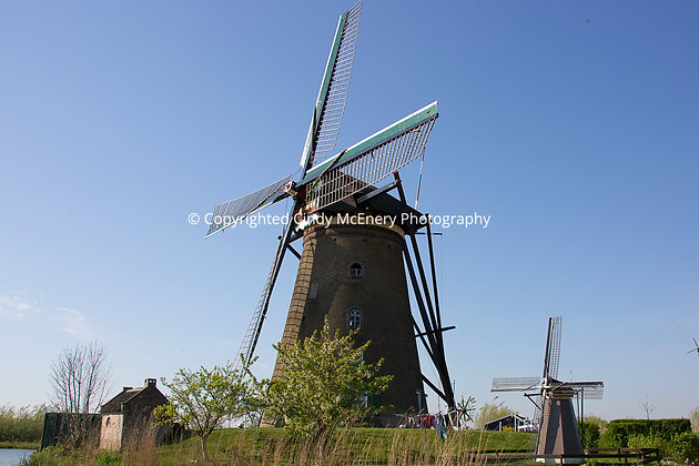 Kinderdijk Windmills #14
