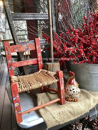 Little Red Chair | Linville Mercantile