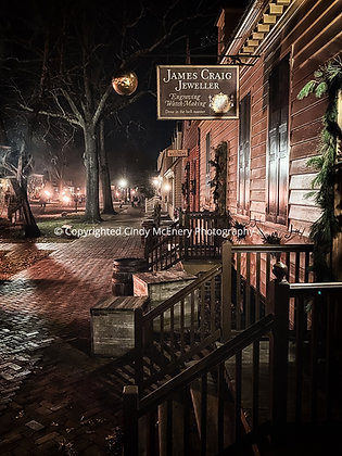 Colonial Williamsburg by Night #1