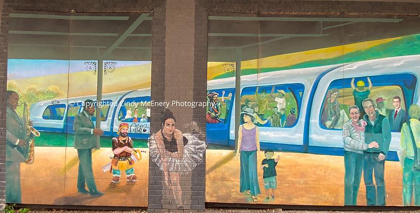 Train Station Mural #1
