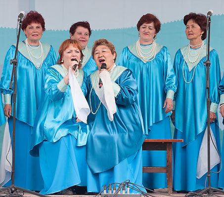 народный хор рябинушка