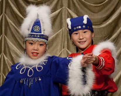 детский образцовый ансамбль хотугу-сулус