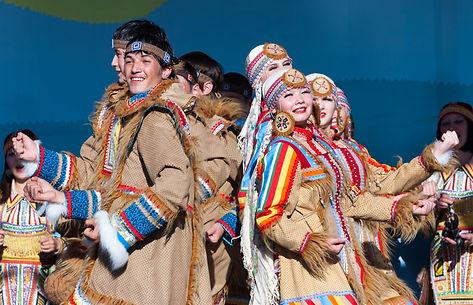 эвенкийский народный ансамбль песни и танца осиктакан