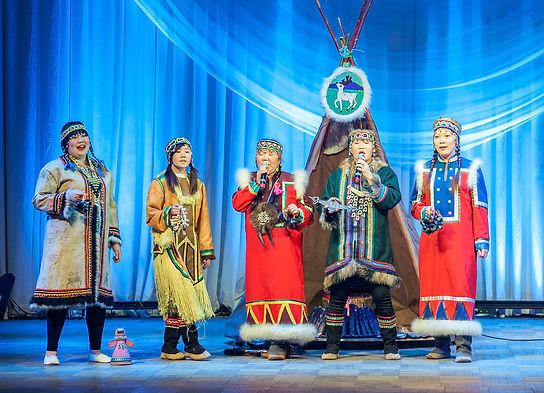 эвенкийский народный ансамбль улгэн