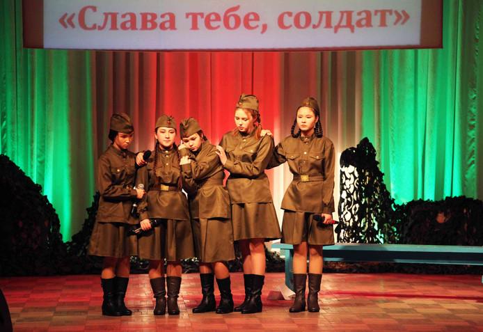 Фестиваль патриотической песни и художественного слова