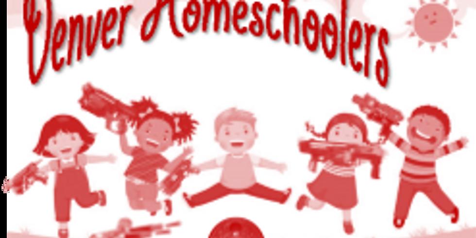 Denver Homeschooler - July Nerf Games