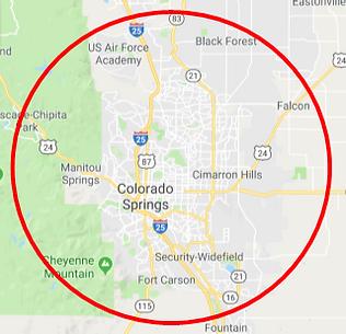 Colorado Springs Mobile Nerf Map