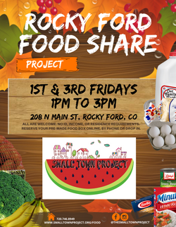 Rocky Ford Food Share Flyer (English)