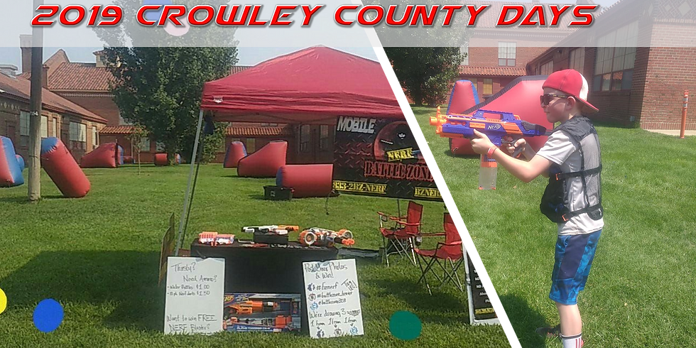 Battle Zone at 2019 Crowley County Days