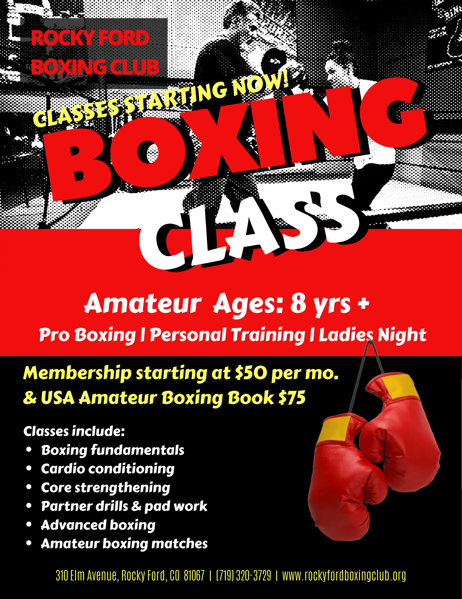 Rocky Ford Boxing Club