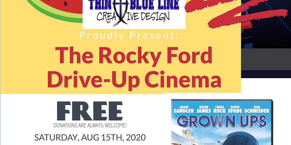 Summer Drive-in Cinema (GROWN UPS)