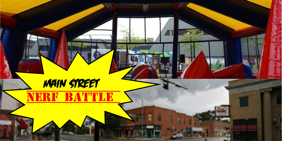 Battle Zone at Downtown Sidewalk Fest!