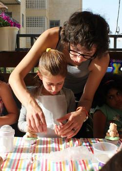 סדנת בצק סוכר לילדים
