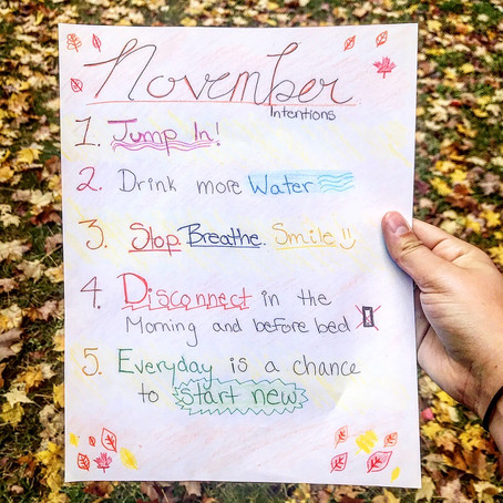 November Intentions