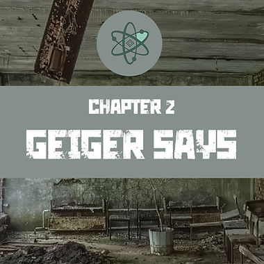 Geiger says is chapter 2 of the Chernobyl Septology