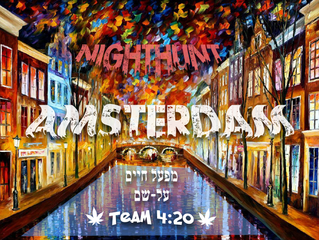 Nighthunt Amsterdam is on the way!