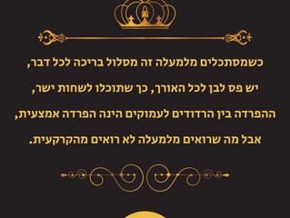 חידת המלך - חידה מספר 3 - שלום לגן מאיר