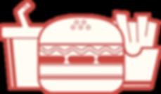 Burger, fritadas & Coke