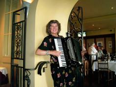 Playing at Picolinos Ristorante