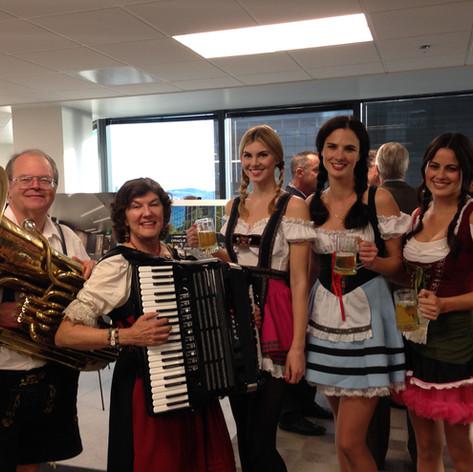 Oktoberfest office party
