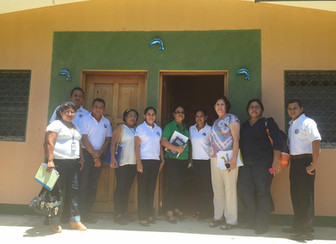 Minister of Family visits services in Nicaragua and hands over final approval