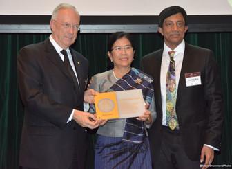 Laotian psychiatrist wins Dr. Guislain Award