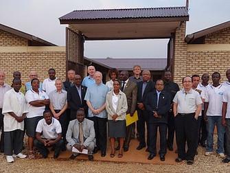 New kitchen unit and bathroom for the Centre Neuropsychiatrique de Ngozi, Burundi