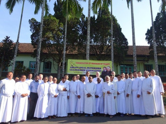 Leadership formation for Asian Regional Superiors in Wonosobo, Indonesia