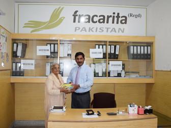 Professor Victoria Patrick visits Fracarita Pakistan Office