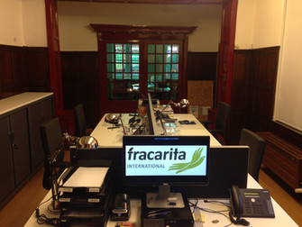 New office space in Fracarita International's main office in Bruges, Belgium