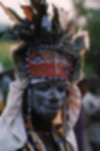African witch doctor