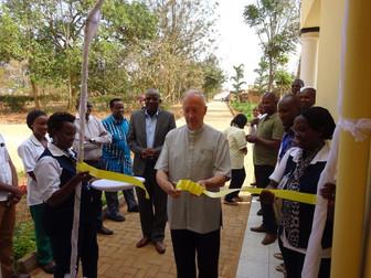 Opening of new kitchen and laboratory at Caraes Ndera, Rwanda