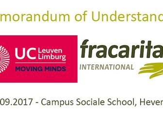 Memorandum of Understanding UCLL - Fracarita International