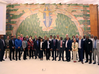 Discussing mental health with World Council of Churches in Geneva