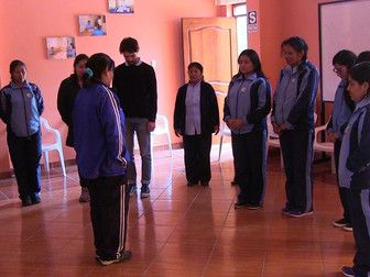 Relaxation training for patients of Peruvian mental health care centre