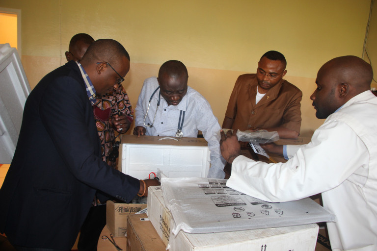Neuropsychiatric centre in Lubumbashi receives new medical equipment thanks to Belgian partner UCB