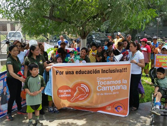 Peruvian centre joins global awareness campaign 'We ring the bell'