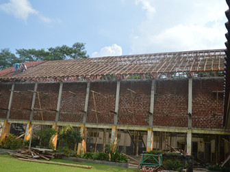 Update about new roof for Indonesian school for the deaf