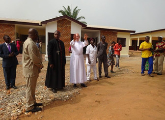 Blessing of new psychiatric centre in Bangui