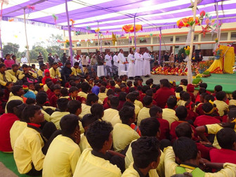 Saint Peter's School Inauguration in Simalia, India
