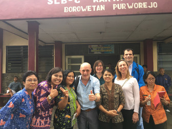 UCLL's visit to the Brothers of Charity in Indonesia