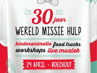 Wereld Missie Hulp celebrates its 30th anniversary