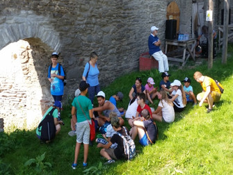 Report of Effata's summer camp, a guidance centre for underprivileged children in Romania